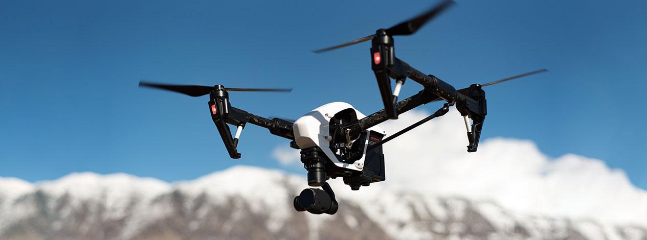 Drone en marche