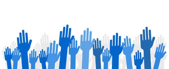 Mains bleues de facebook levées