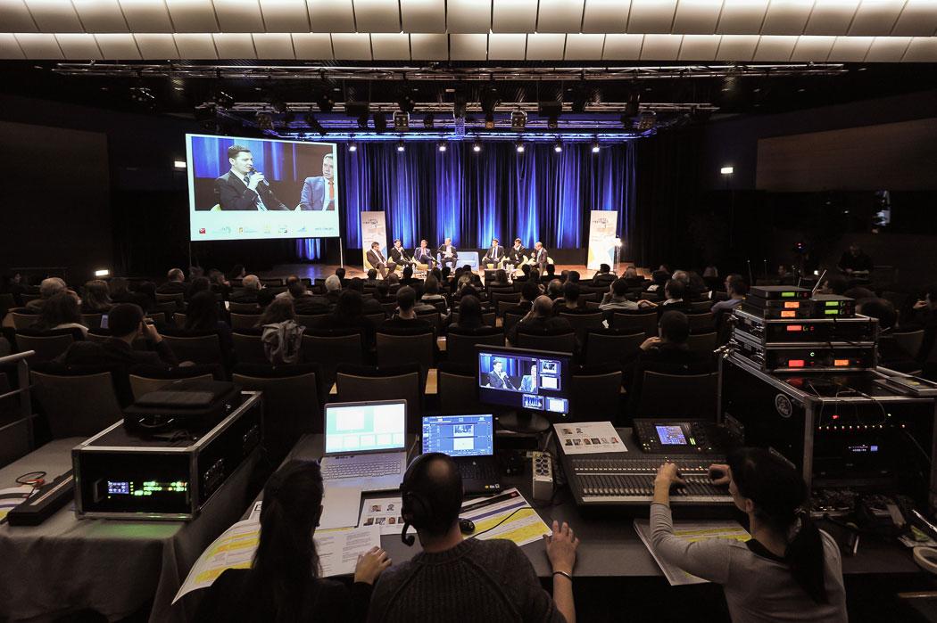 Régie vidéo pour une captation multicamera à Metz